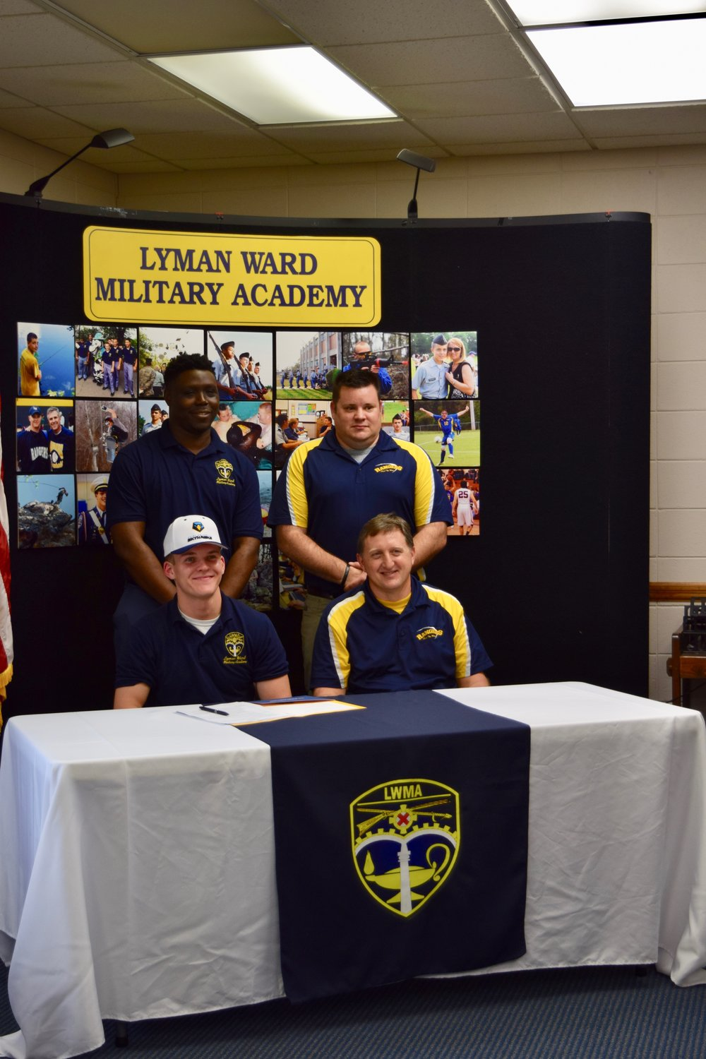 Reese Signs with Point University  2019-02-08