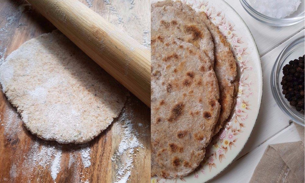 spelt flatbread