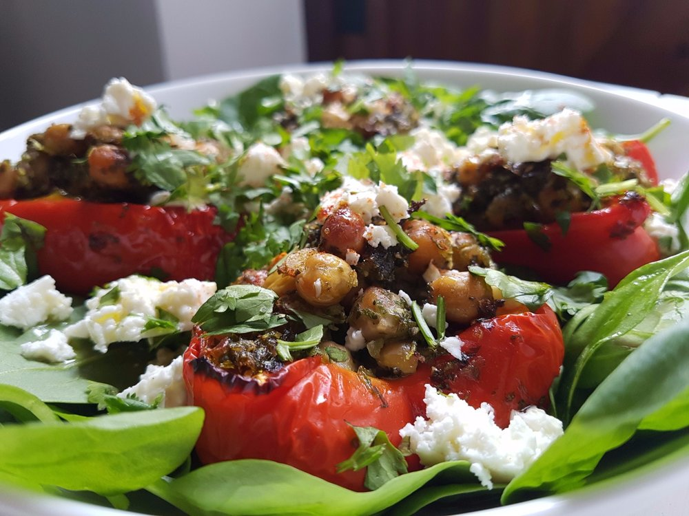 chickpea and coriander stuffed red peppers with feta.jpg