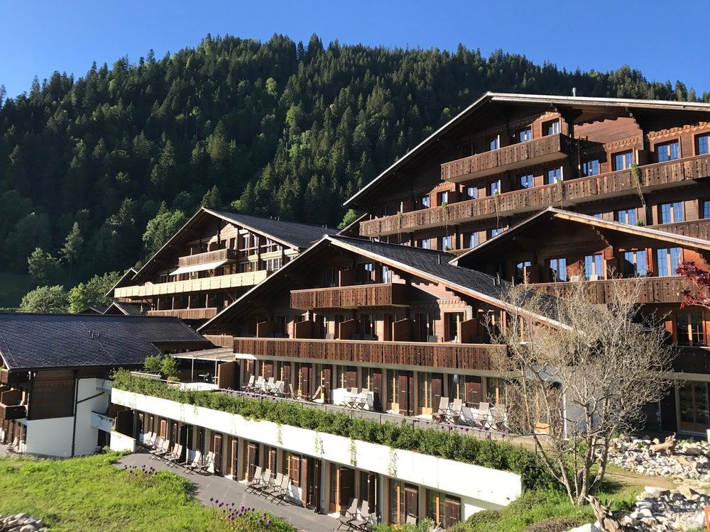 HUUS Hotel, Saanen-  Swedish cool in the Bernese Oberland, with a biking vibe