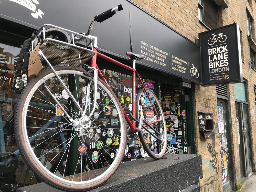 28 Jan. 2018. Brick Lane Bikes, London. Proof of cool?