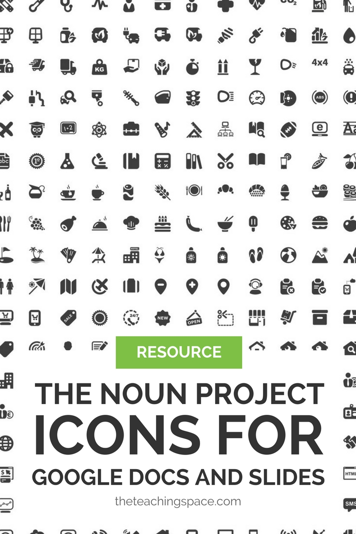 Pinterest The Noun Project Icons for Google Slides and Docs.jpg
