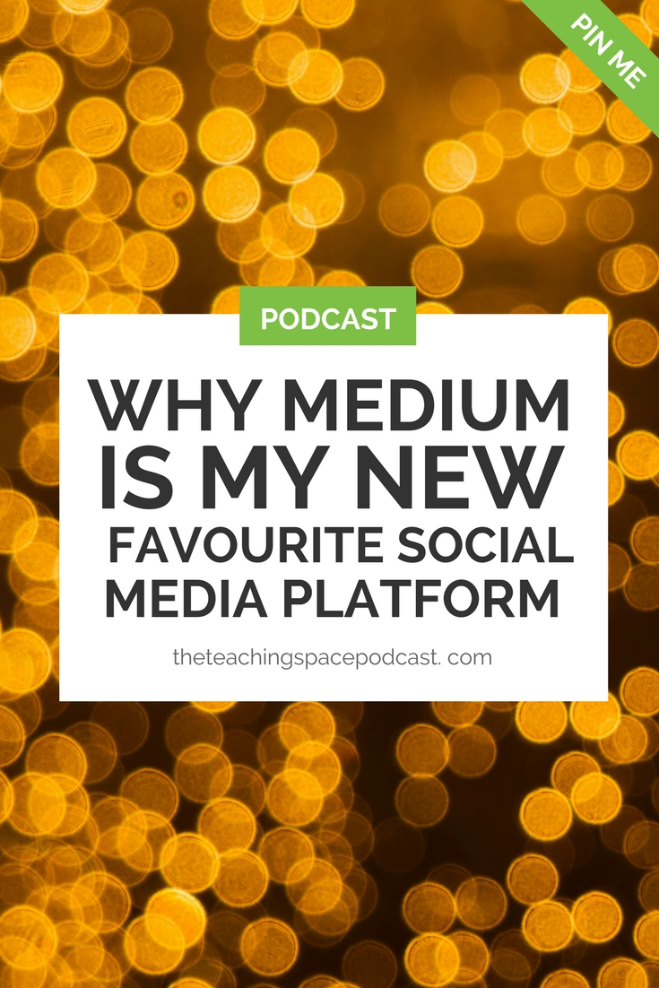 Why Medium is my New Favourite Social Media Platform