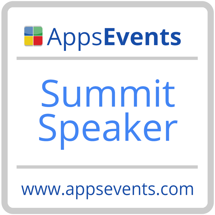 AppsEvents Summit Speaker Badge.png