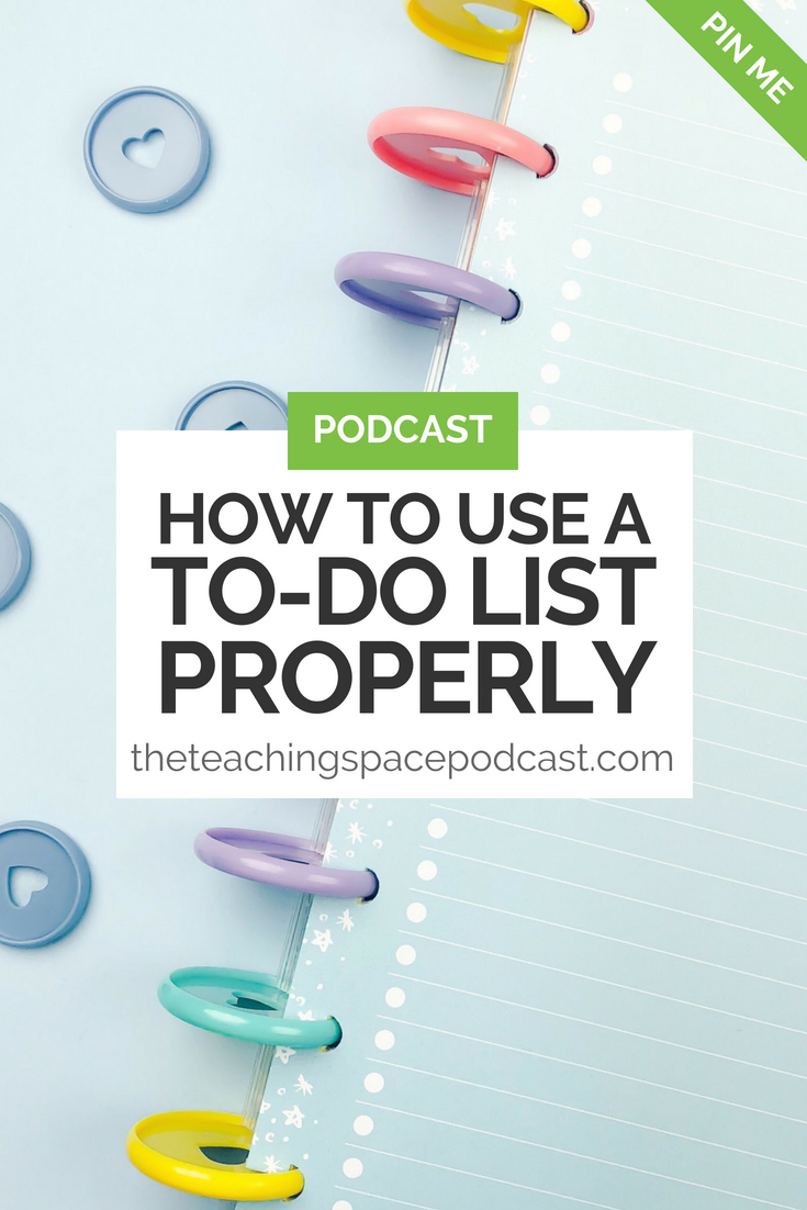 How to Use a To-DO List Properly