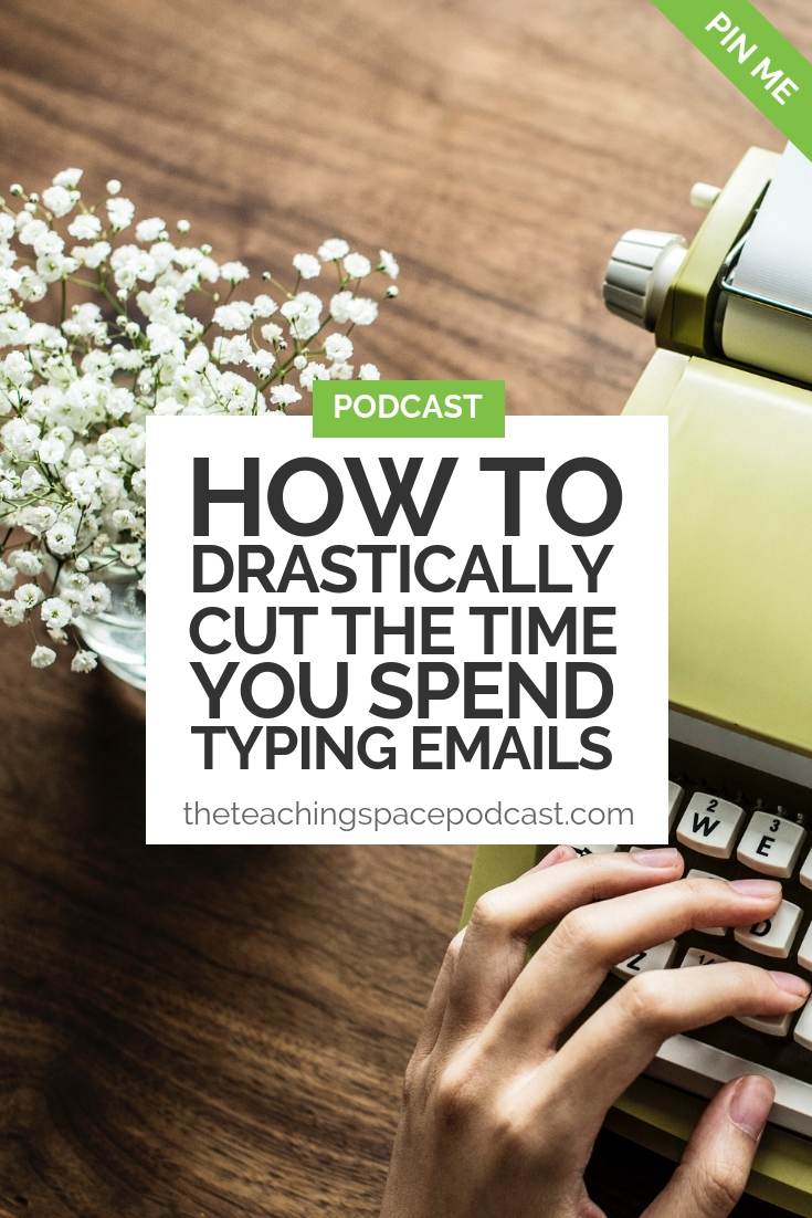 How to Drastically Cut the Time You Spend Typing Emails