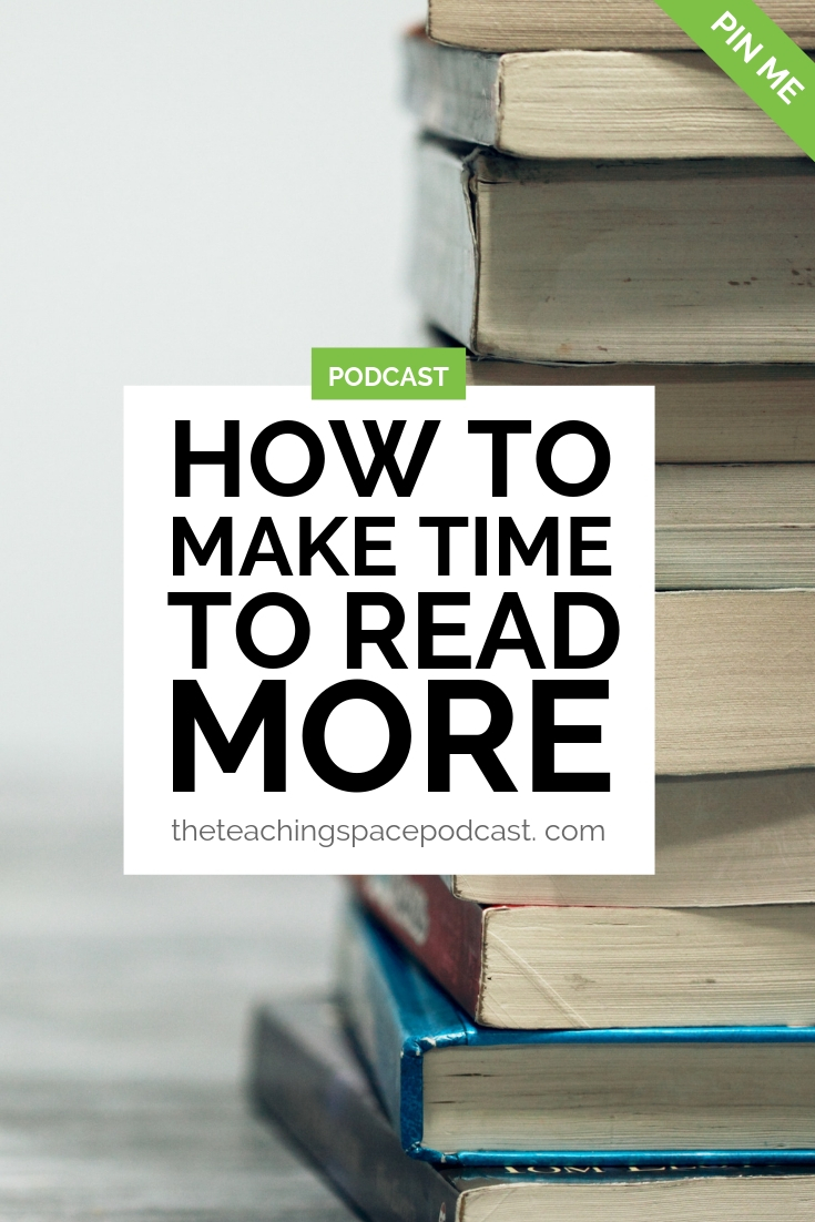 How to Make Time to Read More