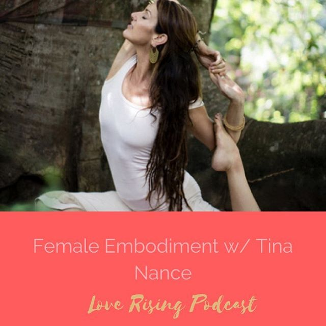 New Love Rising Podcast today! This week's episode I spoke with @tinananceyogatherapy about feminine embodiment: what it looks like, how we can do it, & how incredibly powerful it is for self love & the healing the world. This is cosmic & powerful stuff! Give it a listen (link in my profile). And don't forget to leave us a review because that's how we get this good work out into the world!