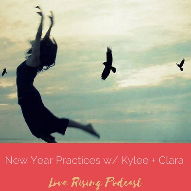 @kyleeseifert_kaifit & @revolutionarylifestyle created a New Years @loverisingpodcast podcast episode talking about what we learned this year & what we do each year to close out the year on the best note.  Listen via the link in my profile. Here's a New Years blessing for you to take with you. For now. ✨ I hope you allow yourself to change your mind  as many times as you need to I hope you go forth and do before you are completely ready  because nothing ever happens as you think it should I hope you feel the magic in your bones  and use it with whimsy  I hope you listen to the secrets your blood whispers to you  and learn to trust your gut  I hope you laugh too loud  because the world needs more unexpected laughter I hope you dance  because your body needs more freedom  I hope you know that you are supported always  even when (and especially when) you feel all alone I hope you keep going into your heart because  There is nothing that is not heaven when the knots around your heart loosen