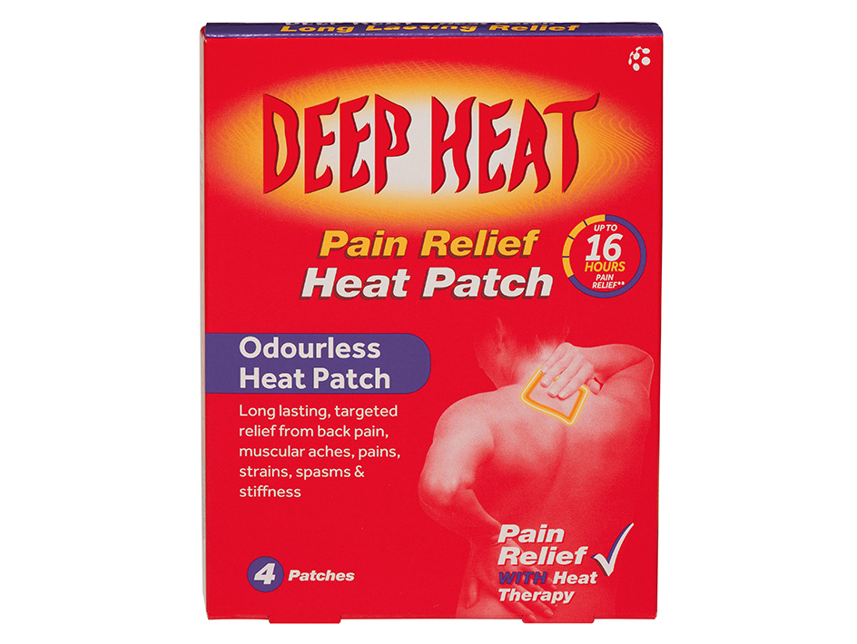 Deep Heat Patches ▶