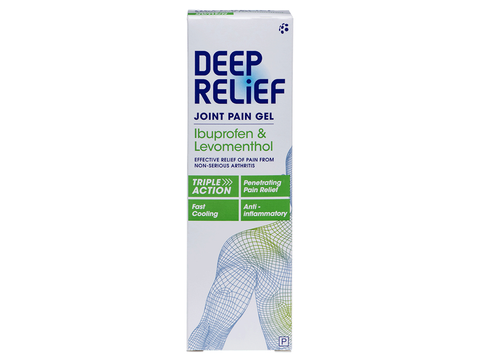 Deep Relief Joint Pain Gel ▶