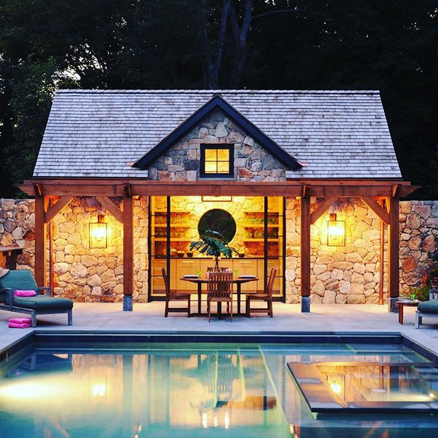 Oh Those Summer Nights ! RRBuilders executed New Canaan Stone Pool House created from the talented team at Brooks & Falotico and captured by the artistic eye of Jane Belies Photography. Call Richard Rosano to consult on your next home project - 203.972.6100 www.rrbuilders.com www.brooksandfalotico.com www.janebeiles.com #stonepoolhouse #pool #outdoorspaces #summernights #outdoorentertaining #newcanaan #connecticut #westchester #florida #naples #palmbeach #customhomes #builder #awardwinning #richardrosano #additions #renovations #rrbuilders #fairfieldcounty #greenwich #stamford #darien #wilton #westport #fairfield @builders.of.insta @brooksandfalotico @janebeilesphoto