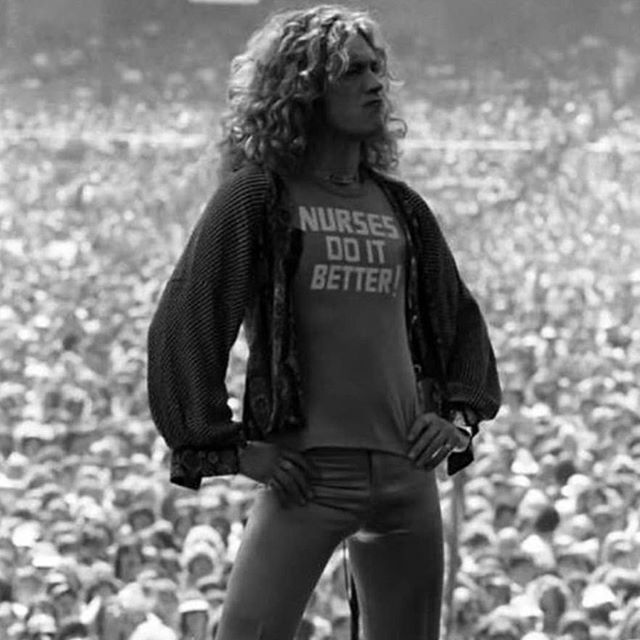 Just a reminder that Robert Plant/Led Zeppelin were ahead of their time 😜