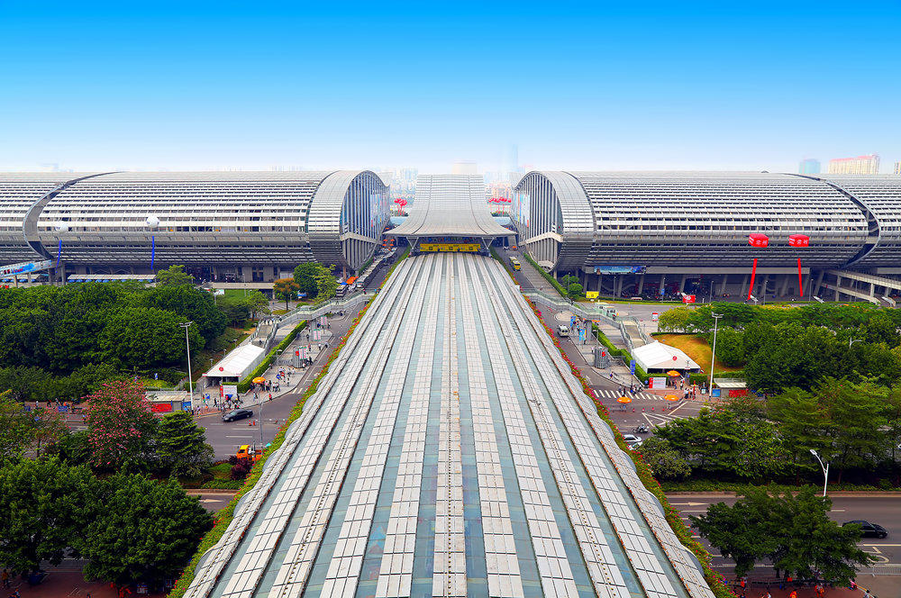 Pazhou Complex, home to the biannual China Import and Export Fair.