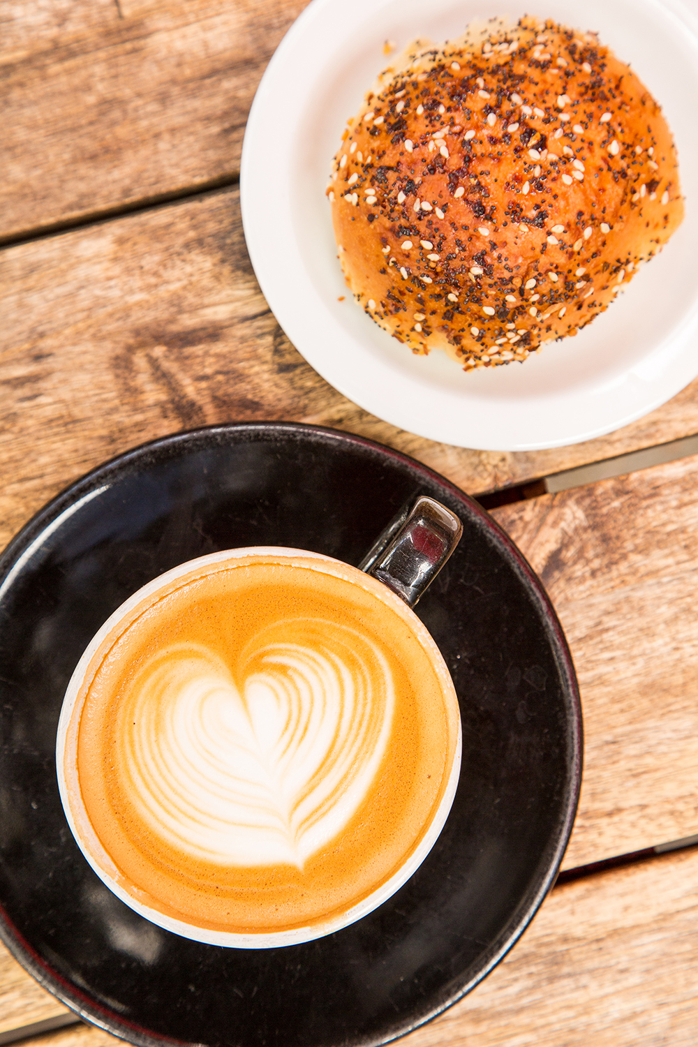 Star your day off right with a specialty coffee drink and kolache