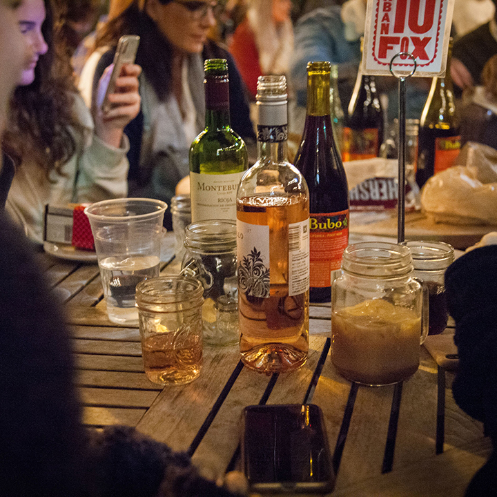 We have drinks of all sorts to appease your palette and mood. Photo by Josh Lyons