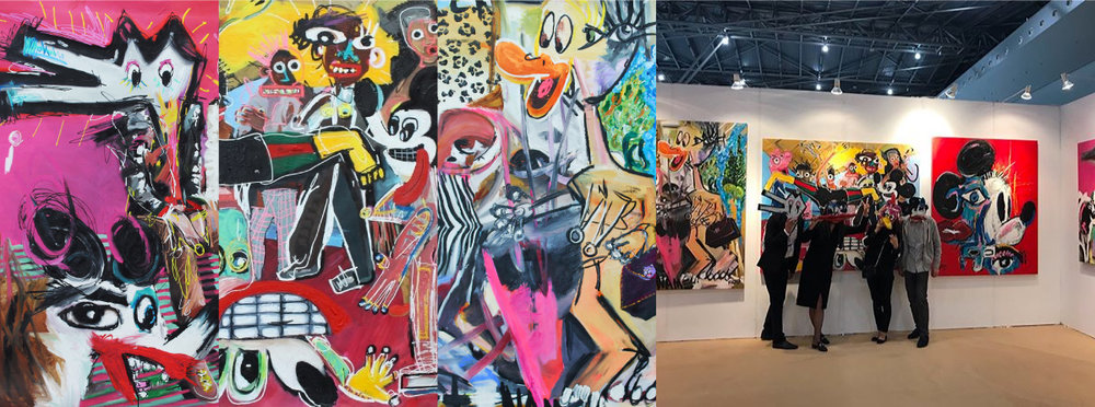 Shanghai Art Fair 2017 World expo exhibition