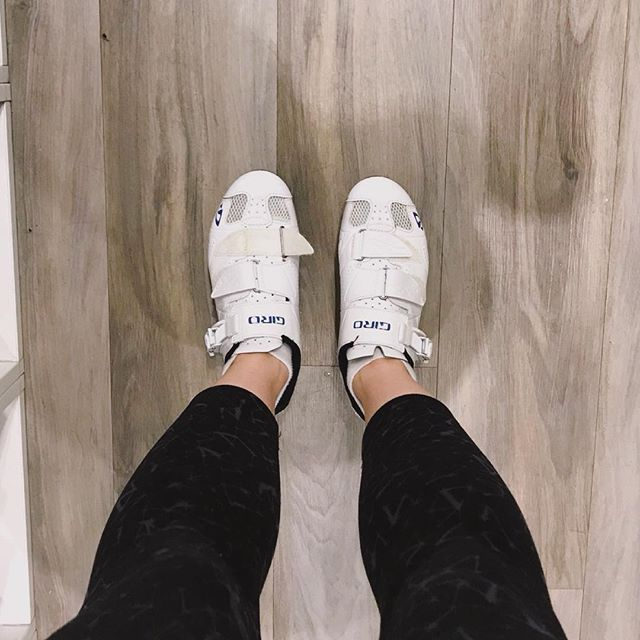 Ready to spin!  I'm getting excited for my favourite spin studio @spincotoronto to open up a new studio across from my place!!! Consistency with exercise for me means switching it up so I don't get bored - check out my post on my favourite workout studios in Toronto for some ideas — link in bio.