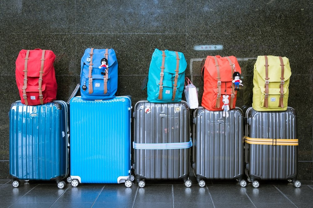 Travelling in a carry-on only instead of lugging all this around will save you a lot of money and hassle.