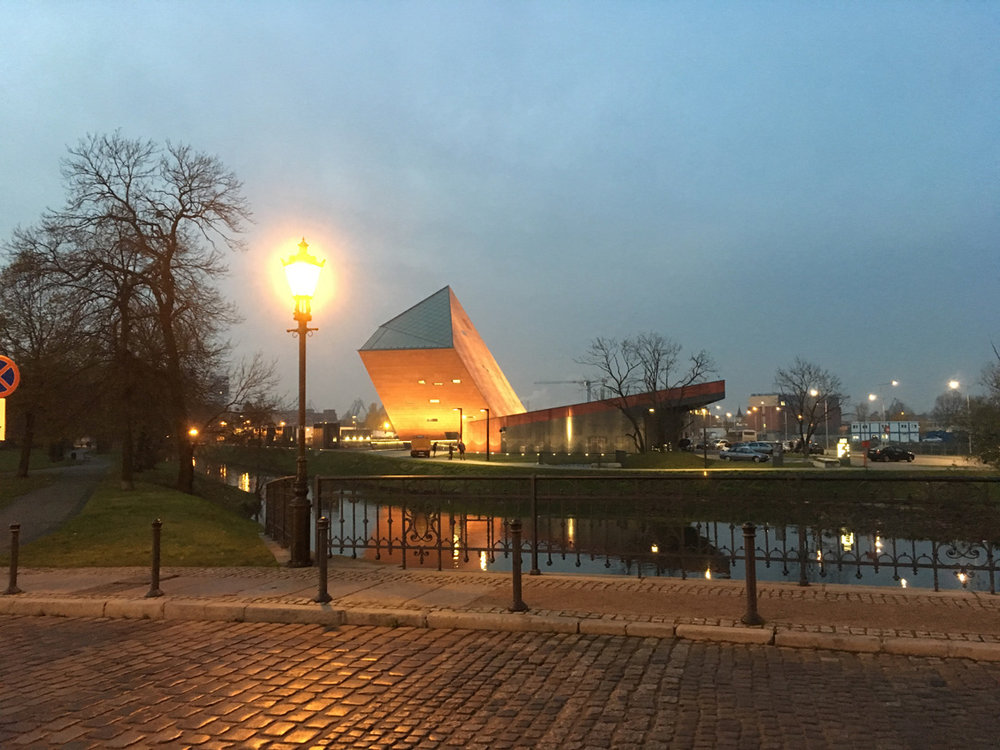 Museum of the Second World War and Westerplatte - Gdansk, Poland
