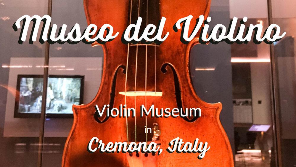 Museo del Violino - Violin Museum in Cremona, Italy