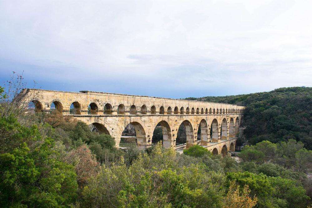 Pont du Gard - Avignon, Provence, Languedoc