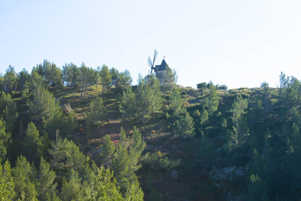 Moulin Bonnet - an easy hike from Boulbon