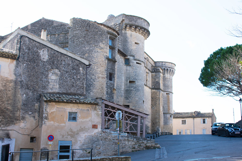 The chateau in Gordes