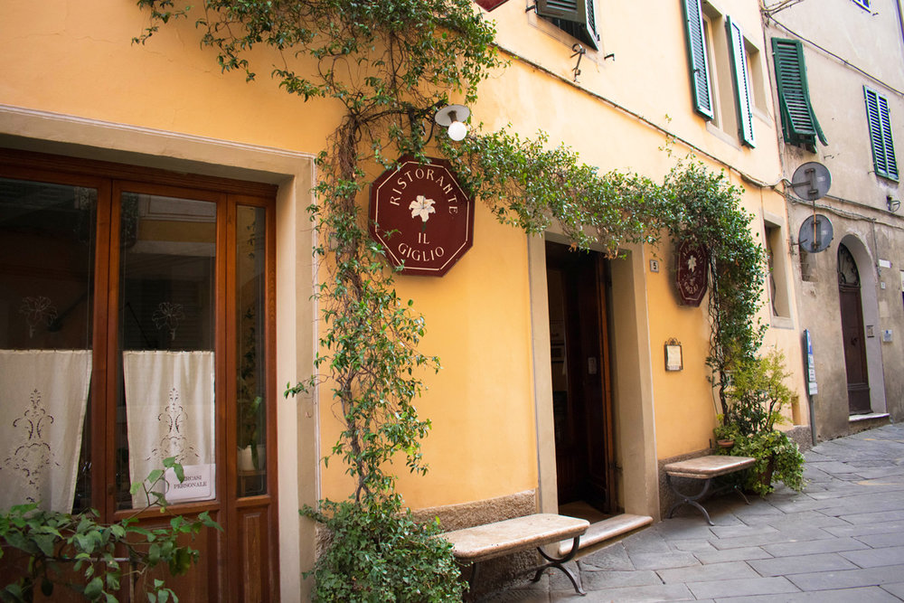 Our hotel, Albergo Il Giglio in Montalcino
