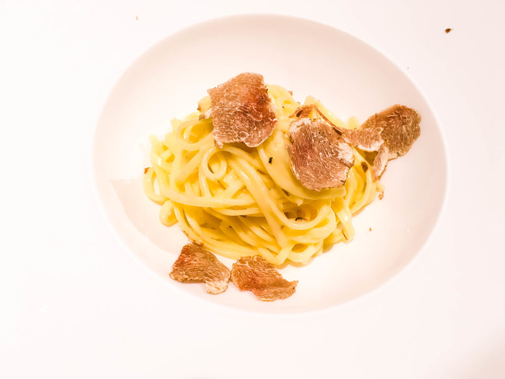 Fresh White Truffle Pasta from Drogheria Franci