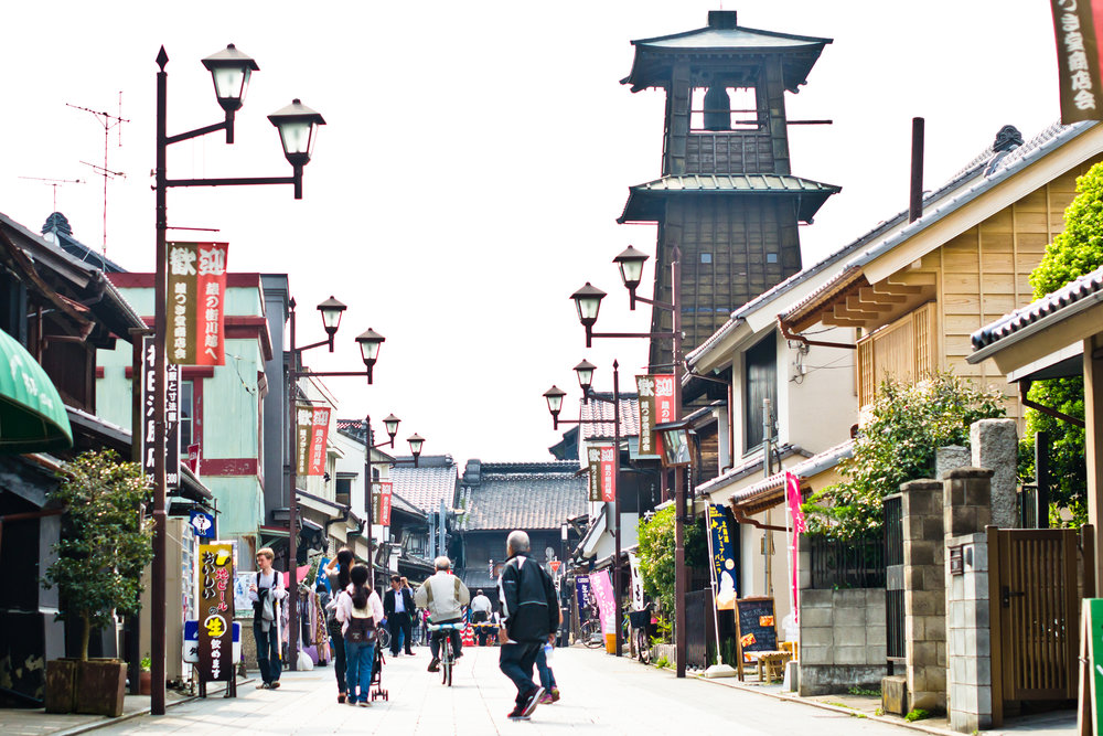 Kawagoe Japan - Ten Thousand Strangers