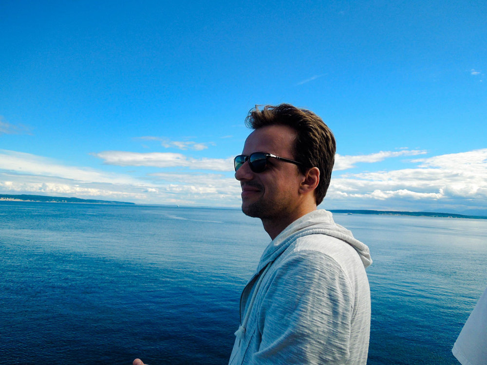 Marcin on The Ferry From Whidbey Island
