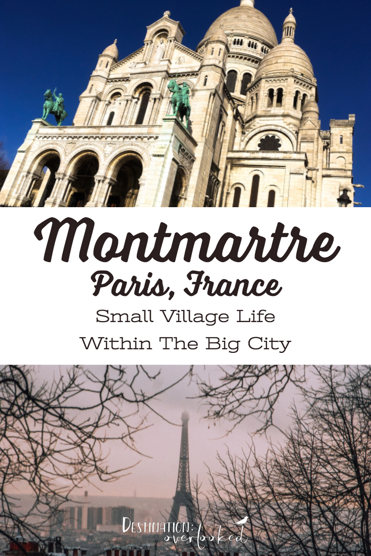 Montmartre in Winter: Small Village Life Within The Big City - Paris, France #Paris #Europetravel #montmartre