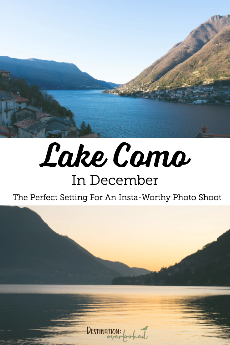 Lake Como In December: The Perfect Setting For an Insta-Worthy Photo Shoot #lakecomo #italy #europetravel