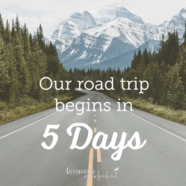 We're leaving on a road trip in a few days! Driving from Seattle to Northern California and back again,  some time in central Oregon as well. Let us know in the comments what kind of posts you'd like to see about our trip!