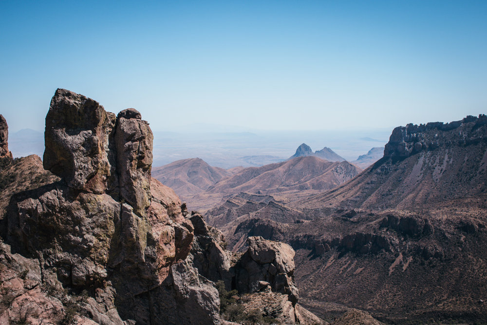 View from the lost mine trail - by Riley Heruska