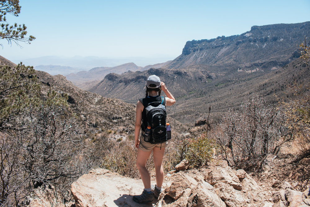 Hiking the Lost Mine Trail - by Riley Heruska