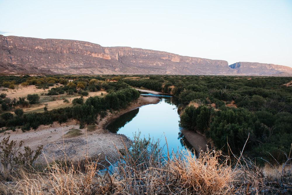 River in Big Bend - By Riley Heruska