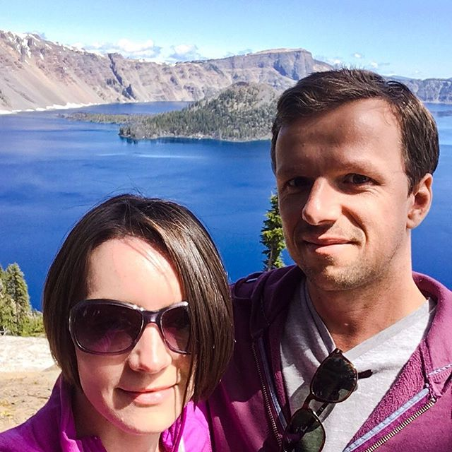 We made it to Crater Lake! 😍