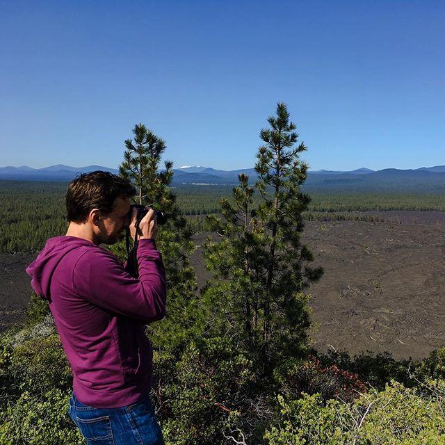 Exploring volcanoes today. 😍