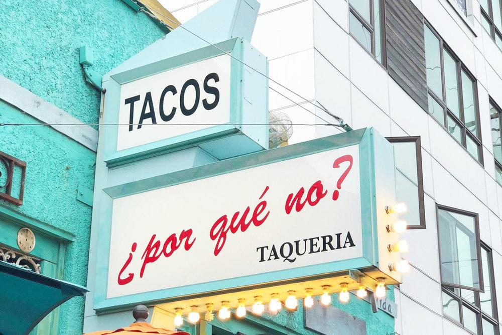 Por Que No Taqueria - 3 Things You NEED to Eat in Portland, Oregon
