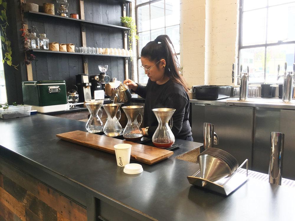 Coava Coffee Roasters Portland Oregon - 3 Things You NEED to Eat in Portland, Oregon
