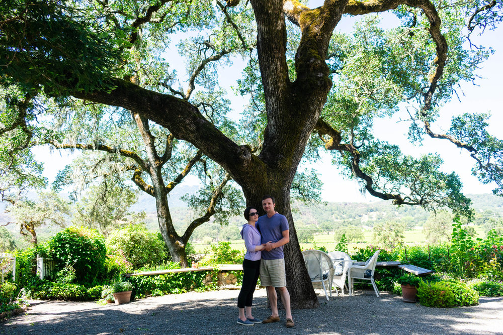 We got married under this tree 4 years ago!
