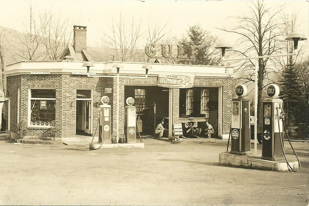The fuel filling station that Ronald Read worked at most of his life