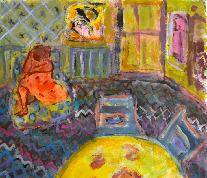Room with Figure