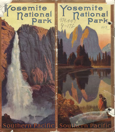 Southern Pacific Railroad brochure