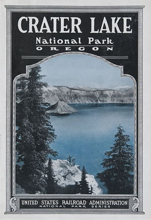 U.S. Railroad Administration promotes tourism to the national parks after WWI