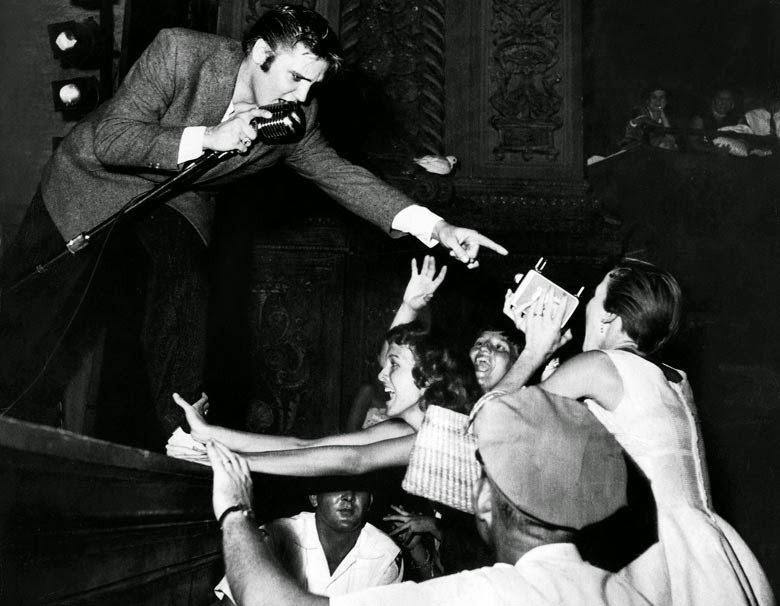ROCK & ROLL: THE 1950s    Read: Mystery Train , 1975 Watch:  Grease ,1978 Listen: Elvis Presley, 1956    MILLENNIAL REC's / Rock & Roll