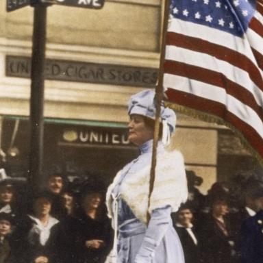 A NEW VOTING FORCE   The Nineteenth Amendment passes, granting women the right to vote.     EPISODES / Decades: The Roaring '20s