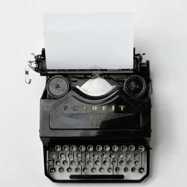 F. SCOTT FITZGERALD'S TYPEWRITER, 1927     FOUND OBJECT / The Roaring '20s